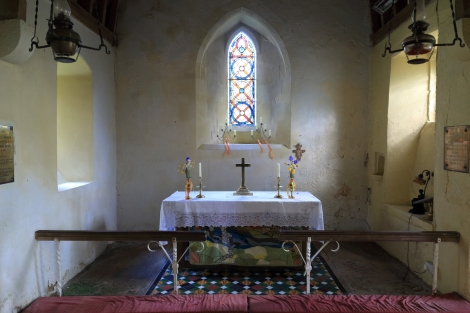 The altar in my favourite, secret old church