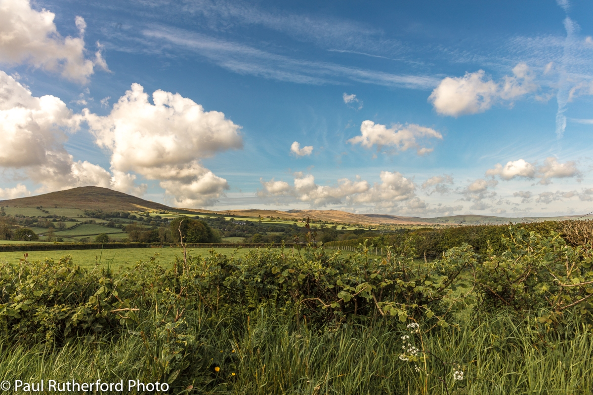 View of the Preseli Hills from the North-East