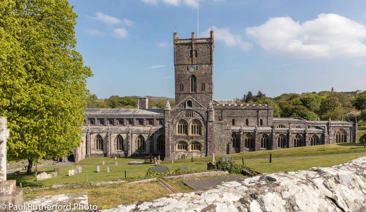 St David's Cathedral, Pembrokeshire, Wales