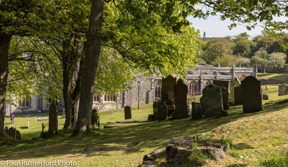 Graves at St David's